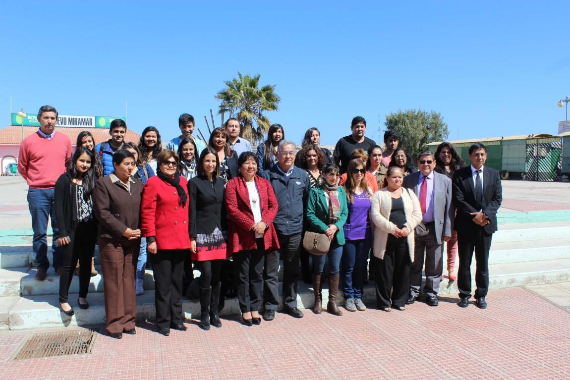 Fundación CAP destaca a 71 jóvenes de Caldera con becas para apoyar su educación superior