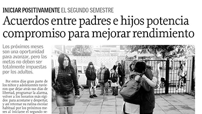 Acuerdos entre padres e hijos potencia compromiso para mejorar rendimiento – El Sur Concepción