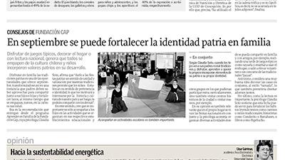 En septiembre se puede fortalecer la identidad patria en familia – El Sur Concepción