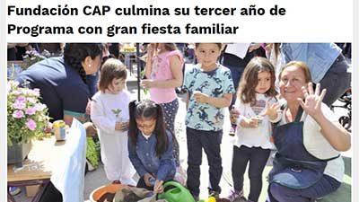 Fundación CAP termina su tercer año de Programa con gran fiesta familiar – Mamás Bellas
