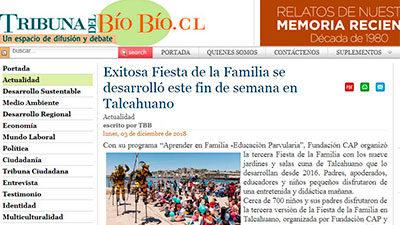 Exitosa Fiesta de la Familia se desarrolló este fin de semana en Talcahuano – La Tribuna del Bío Bío, Noticias