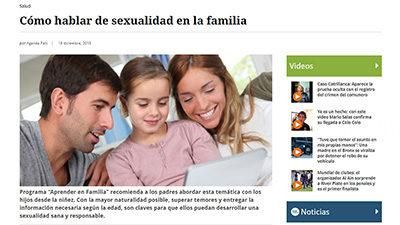 Cómo hablar de sexualidad con tus hijos – El Mostrador