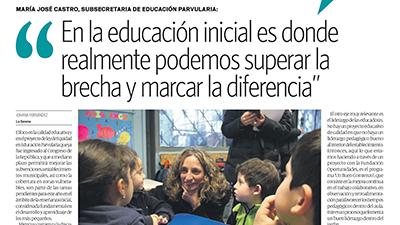 En la educación inicial es donde realmente podemos superar la brecha y marcar la diferencia – Diario el Día