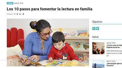 Los 10 pasos para fomentar la lectura en familia – PadresOK