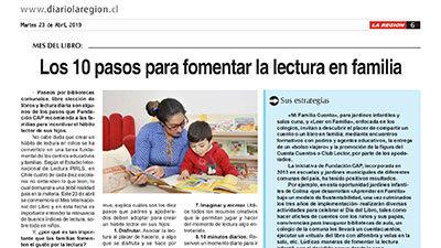 Los 10 pasos para fomentar la lectura en familia – Diario la Región