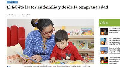 El hábito lector en familia y desde la temprana edad – El Mostrador