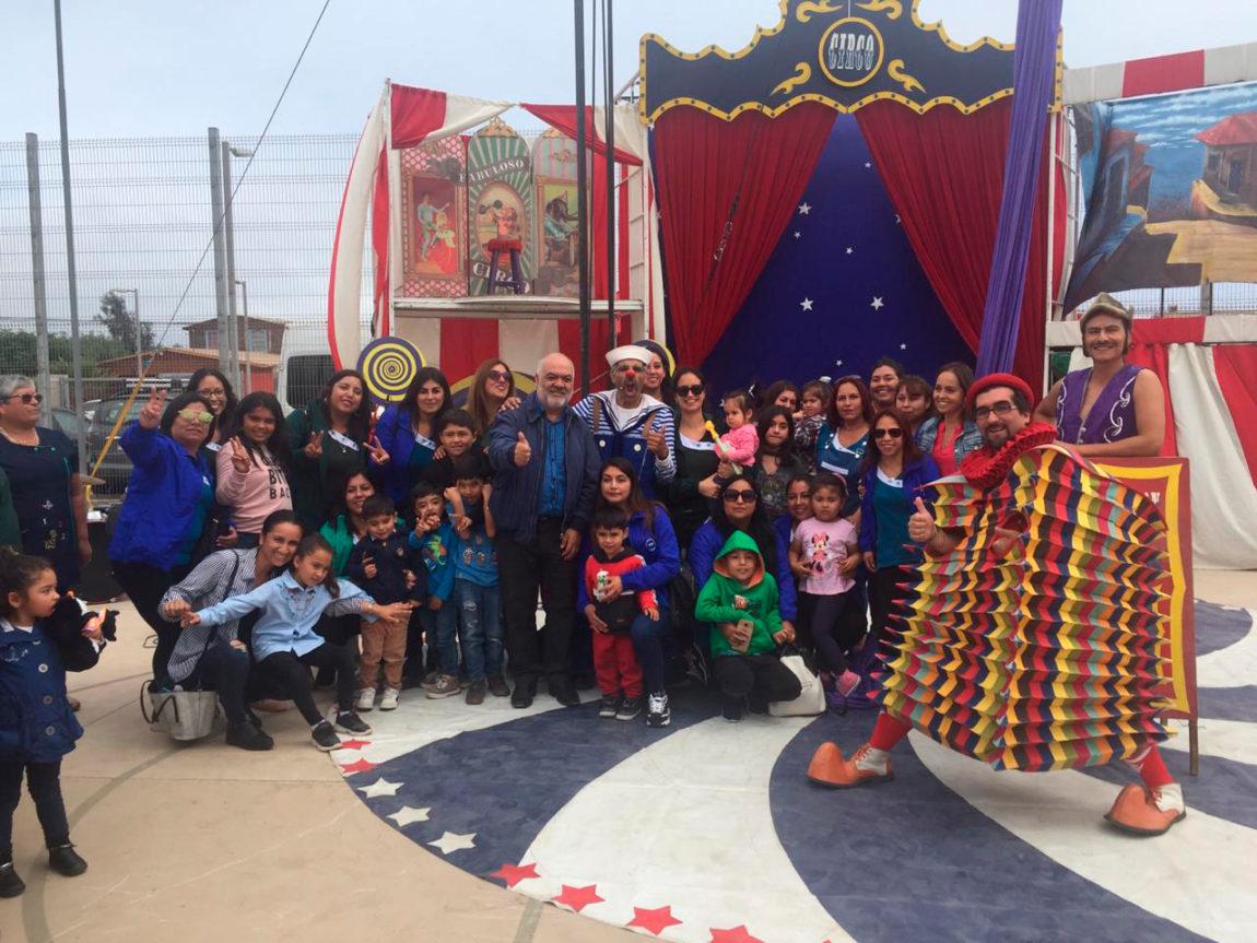 En La Serena: Fundación CAP celebra primer año de su programa Aprender en Familia,  junto a la Subsecretaría de Educación Parvularia.